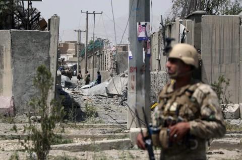 Bom Guncang Rumah Ibadah di Kabul, 4 Orang Tewas