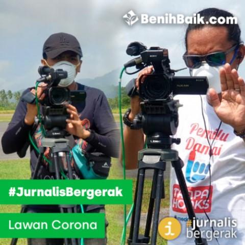 Kampanye #JurnalisBergerak Bantu Para Pekerja Harian dalam Menghadapi Covid-19
