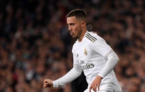 Hazard Mengaku Musim Perdananya di Real Madrid Berjalan Buruk