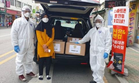 Misi Selesai, Posko KBRI Seoul di Kota Daegu Ditutup