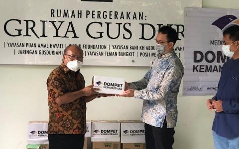 Dompet Kemanusiaan Media Group Salurkan Donasi ke Gusdurian