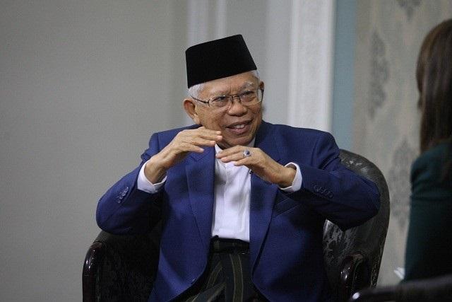 Wakil Presiden Ma'ruf Amin. MI/Adam Dwi