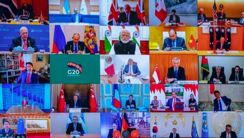Komitmen USD5 Triliun Para Pemimpin G20 untuk Atasi Covid-19
