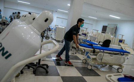 Pemerintah Tingkatkan Pelayanan RS Darurat Wisma Atlet