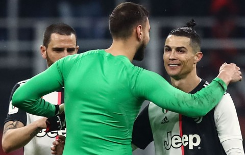Donnarumma: Saya Paling Takut dengan Ronaldo