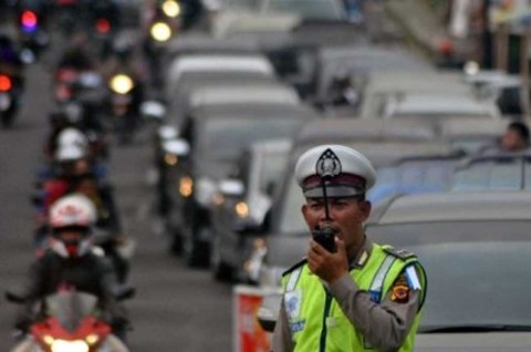 Kepolisian Siap Simulasi Lockdown Jakarta