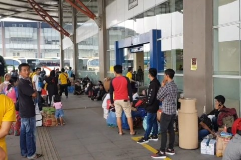 Terminal Pulogebang Hentikan Sementara Operasional Bus AKAP