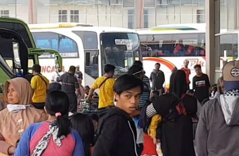 539 Orang Meninggalkan Jakarta via Terminal Pulogebang Hari Ini