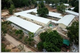 Molor, Pembangunan RS Korona Pulang Galang Rampung April