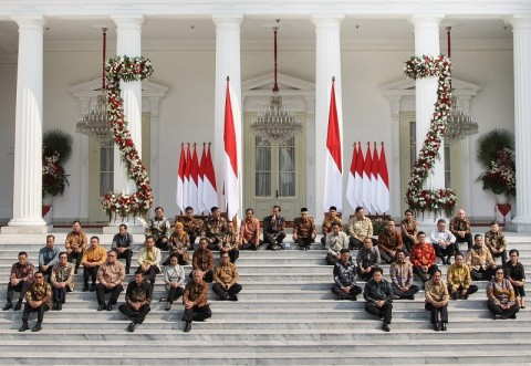Survei Charta Politika: Masyarakat Puas Kinerja Pembantu Jokowi