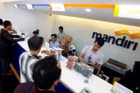 Bank Mandiri Naikkan Limit Transfer <i>Online</i>
