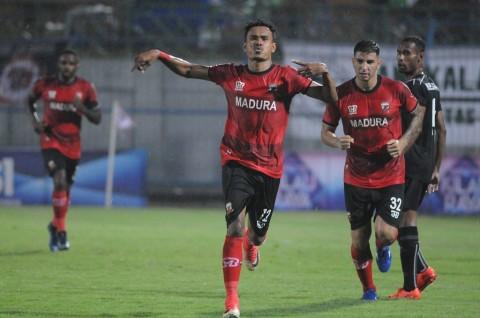 Jeda Kompetisi, Pemain Madura United Digaji 25 Persen