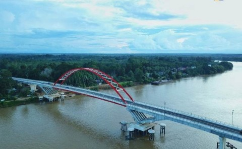 Jembatan Tumbang Samba, Terpanjang di Lintas Tengah Kalimantan