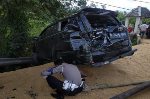 Kecelakaan Beruntun di Brebes 3 Orang Tewas
