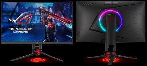 Asus Rilis Monitor Gaming Lengkung Refresh Rate 165Hz