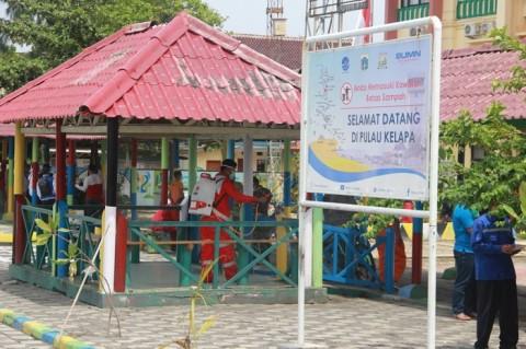 Pulau Kelapa Ditutup untuk Umum Cegah Penyebaran Korona
