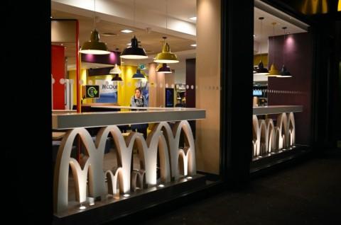 McDonalds Tutup Fasilitas Makan di Tempat
