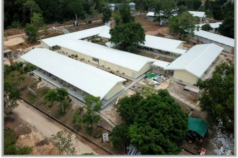 Jokowi ke Pulau Galang Cek Pembangunan RS Darurat Korona