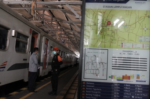 Daop 6 Yogyakarta Batalkan 126 Perjalanan Kereta