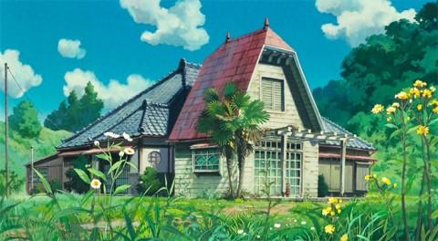 Replika Rumah dalam Film 'My Neighbour Totoro'
