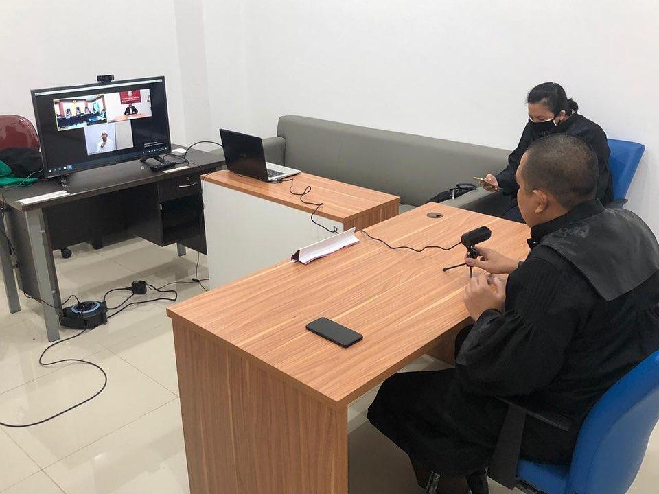 10 Ribu Kasus Disidang Via Telekonferensi