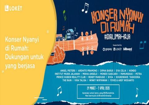 Musisi Indonesia Kembali Galang Dana lewat Konser Daring