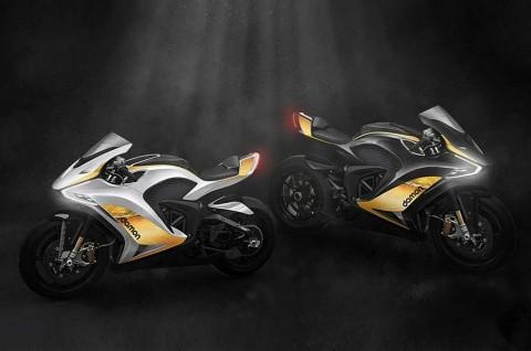 Superbike Listrik Kolaborasi BlackBerry dan Damon Motorcycles