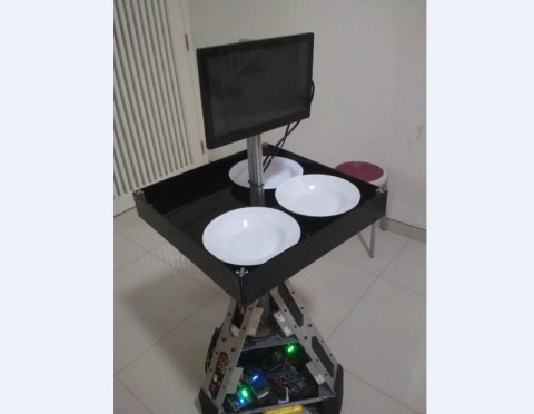 ITS Ciptakan Robot Pelayan Pasien Korona