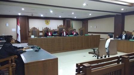 Saeful Bahri Didakwa Menyuap Wahyu Setiawan Rp600 Juta