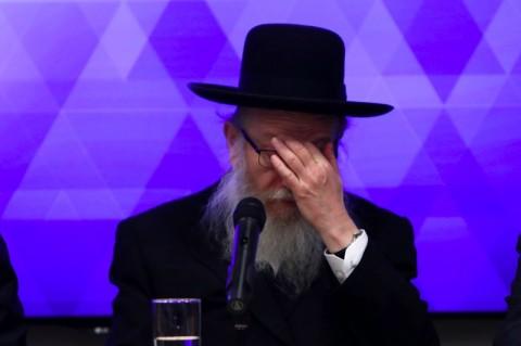 Menteri Kesehatan Israel dan Istrinya Terjangkit Covid-19