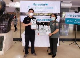RSPAD Gatot Subroto Terima Bantuan 500 Jerigen Hand Sanitizer