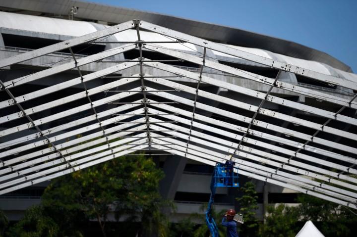 RS Darurat Korona Mulai Dibangun di Maracana