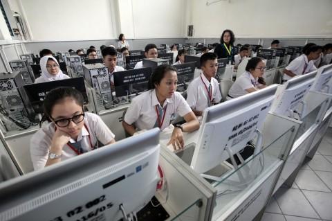 <i>Try Out</i> SMP di Tangerang Digelar Secara Daring