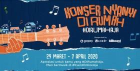 LOKET, GoPay, dan Billboard Indonesia Gelar Konser Nyanyi di Rumah