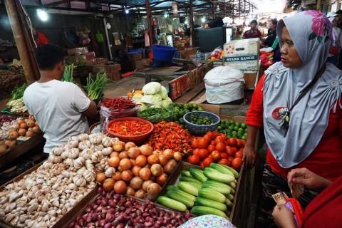 Tekan Penyebaran Covid-19, Operasional Pasar Tradisional di Bogor Dibatasi