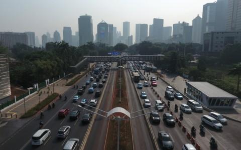 Polusi Udara Jakarta Masih Tinggi Saat Awal <i>Physical Distancing</i>