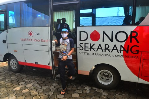 Stok Darah Menipis, PMI di Jateng Gelar Donor Darah Keliling