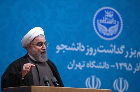 Rouhani Tegaskan Semua Elemen Iran Bersatu Lawan Covid-19