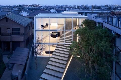 Stairway House, Rumah dengan Tangga Unik