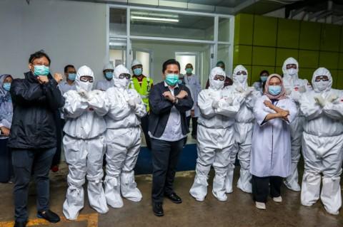Erick Ingin Indonesia Bisa Produksi Ventilator