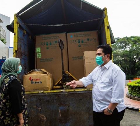 Temasek Sumbang 1.000 Alat Tes Korona