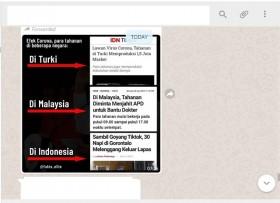 [Cek Fakta] Efek Korona di Turki Napi Produksi Masker, Indonesia hanya Keluar Lapas sambil <i>TikTokan</i>? Ini Faktanya