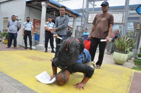 35.676 Napi Dibebaskan Imbas Korona