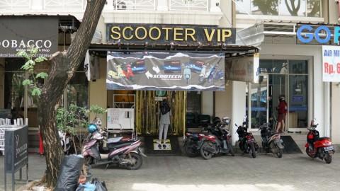 Scooter VIP Berlakukan SOP Covid-19 di Bengkel