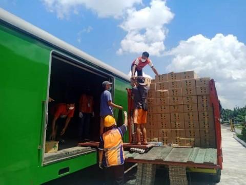 KAI Angkut 4,6 Ton Telur dari Blitar ke Jakarta