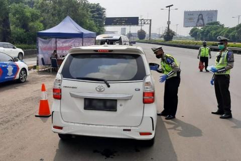 Pelanggaran PSBB di Jalan Tol, Mayoritas Kendaraan Pribadi
