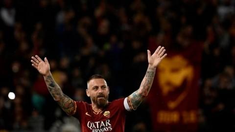 De Rossi Berniat Menjadi Pelatih AS Roma