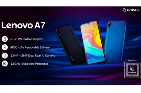 Lenovo A7 Entry-Level Didukung Chipset Unisoc