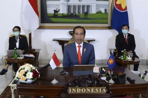 Jokowi Usul ASEAN Bentuk Protokol Bersama Atasi Covid-19