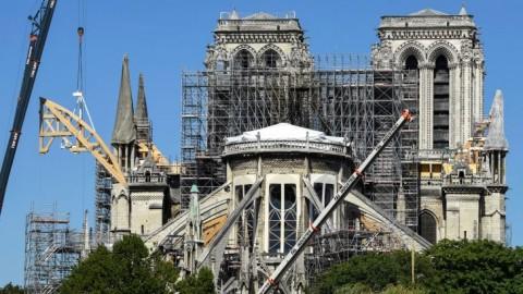 Restorasi Notre Dame Terimbas Pandemi Korona